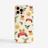 Jolly Christmas Slimline Phone Cover Front | Available at Dessi-Designs.com
