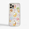 Cute Ice Cream Slimline Phone Case | Available at www.dessi-designs.com