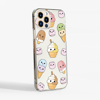 Cute Ice Cream Slimline Phone Case Side View| Available at www.dessi-designs.com