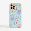 Cute Sea Creatures Phone Case | Available at www.dessi-designs.com
