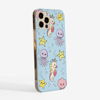 Cute Sea Creatures Phone Case Side | Available at www.dessi-designs.com