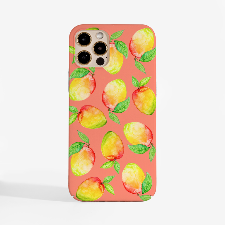 Mango Coral Phone Cases | Available at www.Dessi-Designs.com