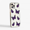 Purple Butterfly Phone Case Side | Available at www.dessi-designs.com