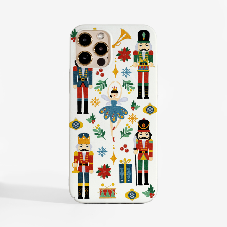 Nutcracker ballet phone case | Available at www.dessi-designs.com