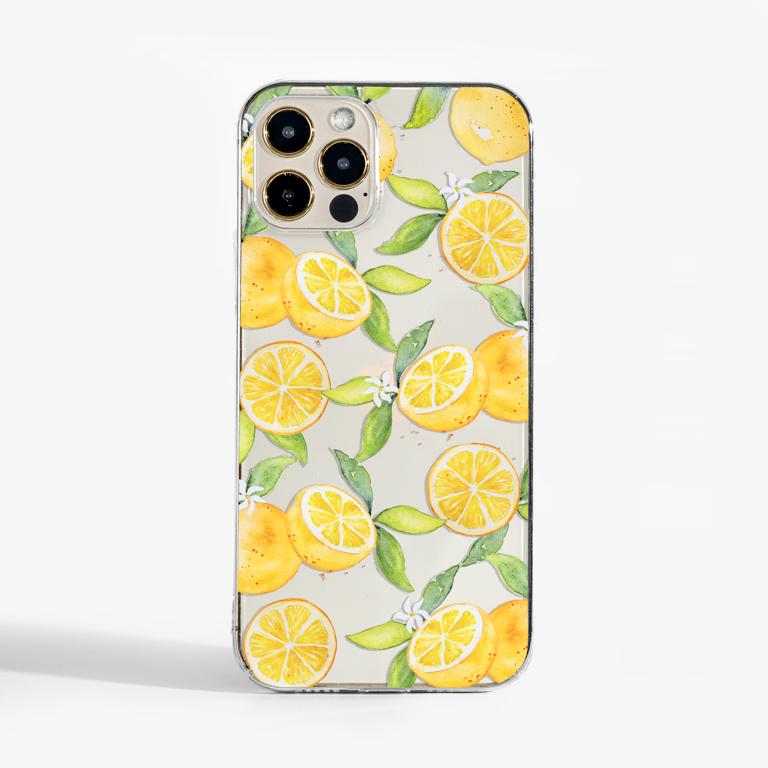 Orange Crystal Clear Slimline Case   Available at Dessi-Designs.com