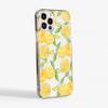 Orange Crystal Clear Slimline Case Side   Available at Dessi-Designs.com