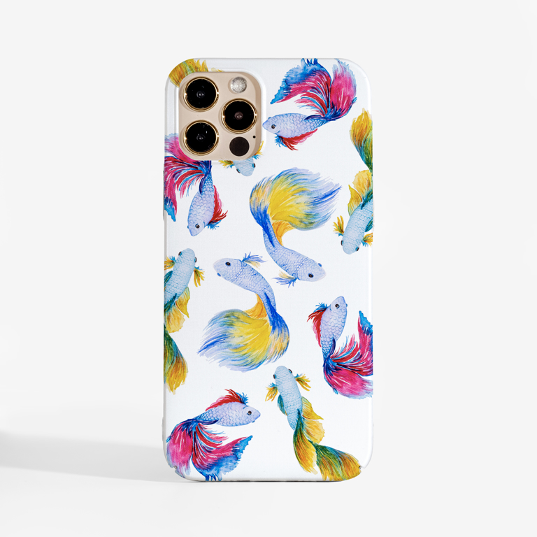 Rainbow Fish Slimline Phone Case | Available at Dessi-Designs.com