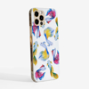 Rainbow Fish Slimline Phone Case Side | Available at Dessi-Designs.com