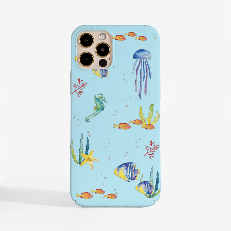 Under The Sea Phone Case | Available at Dessi-Designs.com