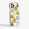 Watercolour Pumpkins clear phone case    available at www.dessi-designs.com