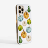 Watercolour pumpkins phone cover Side- Available at www.dessi-designs.com