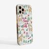 Tis The Season Slimline Christmas Phone Case Side | Available at Dessi-Designs.com