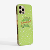 Most Wonderful Time of The Year Christmas  Phone Case Side | Available at Dessi-Designs.com