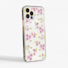 Cherry Blossom Clear Phone Case Side | Available at www.dessi-designs.com