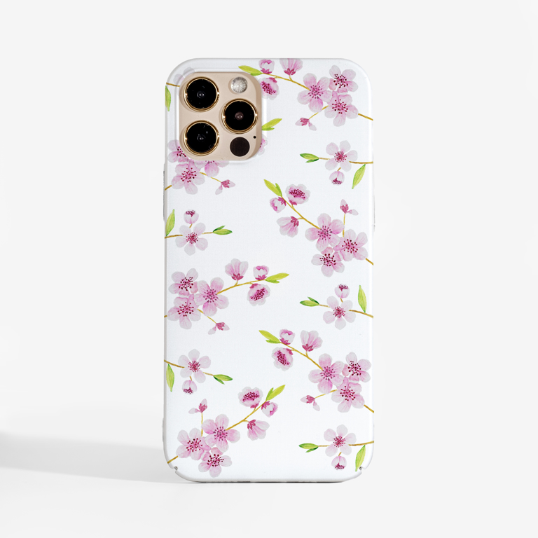Cherry Blossoms Phone Case   Available at www.Dessi-designs.com