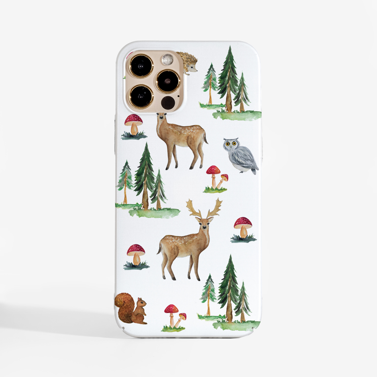 Forest Slimline Phone Case Front | Available at Dessi Designs