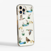 Clear Ducks Slimline Phone Case  Side | Available at Dessi-Designs.com
