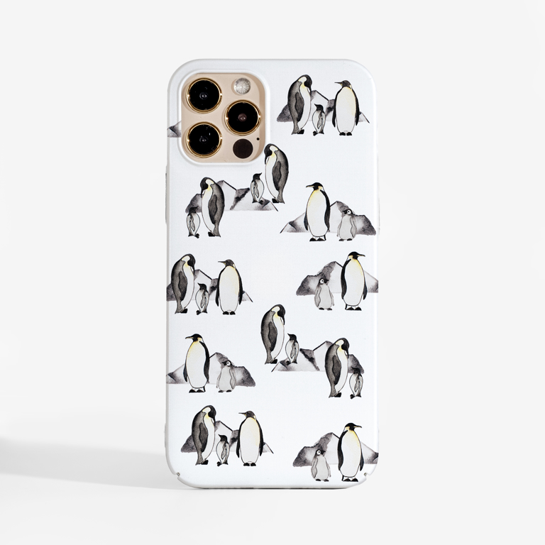 Penguins Phone Case | Available at www.dessi-designs.com