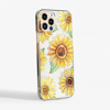 Sunflowers Clear Phone Case Side | Available at www.dessi-designs.com