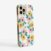 Watercolour Blossoms Phone Case Side | Available at www.Dessi-designs.com