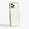 Not Enough Clear Slimline Phone Cases Side | Available at Dessi-Designs.com