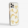 Banana Clear Phone Case Side | Available at Dessi-Designs.com