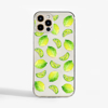 Lime Clear Phone Case Front | Available at Dessi-Designs.com