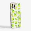 Lime Clear Phone Case Side | Available at Dessi-Designs.com