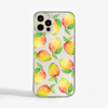 Mangos Clear Phone Case Front | Available at Dessi-Designs.com