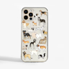 Dogs Clear iPhone Case | Available at Dessi-Designs.com