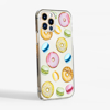Sweets Clear Phone Case Side | Available at Dessi-Designs.com