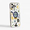 Clear Halloween Phone Case Side View. Available at www.dessi-designs.com