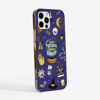 Halloween Phone Case Purple Background Side. Available at www.dessi-designs.com