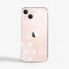 Large Snowflakes Slimline Phone Case Pink Phone    Available at Dessi-Designs.com