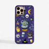 Halloween Phone Case Purple Background. Available at www.dessi-designs.com